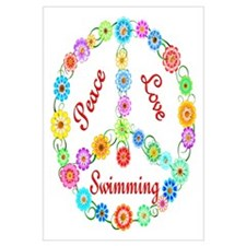 Swimming Peace Sign