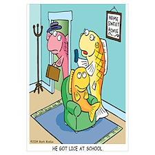 He got lice at School