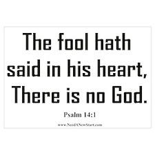Psalm 14:1