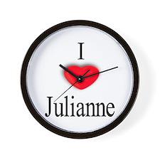 Julianne Wall Clock