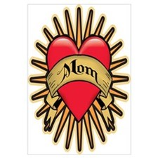Mom Heart Tattoo Art