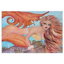 """Aquaism in Flame"" Mermaid P"