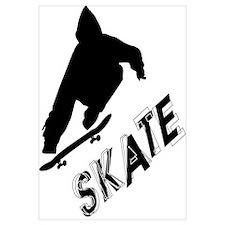 Skate Ollie Sillhouette