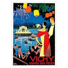 Vintage Vichy Comite des Fetes
