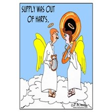 Supply in Heaven Was out of Harps