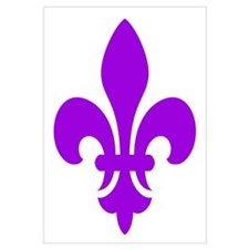 Purple Fleur-de-Lys
