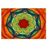 Orange/Green Mandala