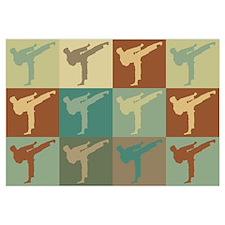Karate Pop Art