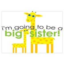 Big Sister To Be Giraffes