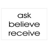 THE SECRET ASK BELIEVE RECEIVE