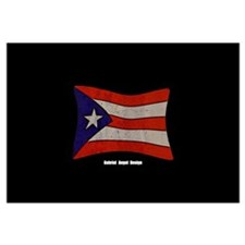 Puerto Rico Flag Graffiti