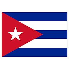 Cuban flag of Cuba