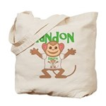Little Monkey Randon Tote Bag