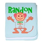 Little Monkey Randon baby blanket