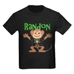 Little Monkey Randon Kids Dark T-Shirt