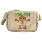 Little Monkey Randon Messenger Bag
