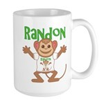 Little Monkey Randon Large Mug