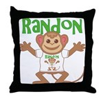 Little Monkey Randon Throw Pillow
