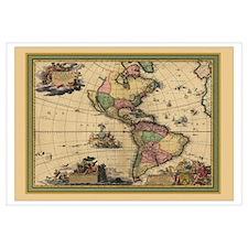 America Americas Map