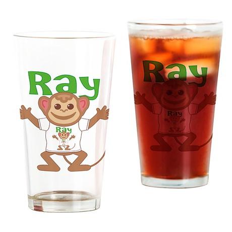 Little Monkey Ray Drinking Glass