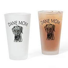 Black UC Dane Mom Drinking Glass