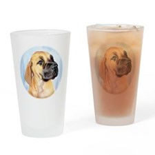 Great Dane Fawn Pup Drinking Glass