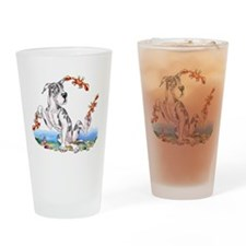 Great Dane Harle Crabby Drinking Glass