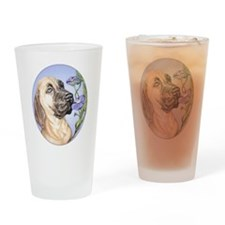 Great Dane Fawn Glory Drinking Glass
