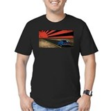 Rising Sun 240Z Fitted T-Shirt
