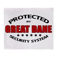 Great Dane Security Throw Blanket