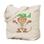 Little Monkey Ronald Tote Bag