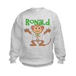 Little Monkey Ronald Kids Sweatshirt
