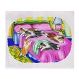 Sheltie Pink Comfort Throw Blanket