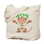 Little Monkey Roy Tote Bag