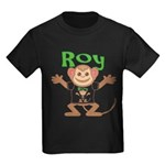 Little Monkey Roy Kids Dark T-Shirt