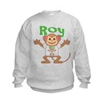 Little Monkey Roy Kids Sweatshirt