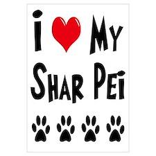 I Love My Shar Pei