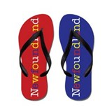 Newfoundland Colors Flip Flops