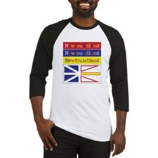 Newfoundland Colors Baseball Jersey