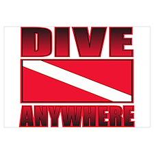 Dive Anywhere Everywhere Flag