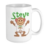 Little Monkey Steve Large Mug