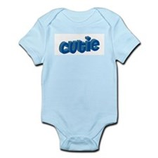 Cutie (Blue) Infant Onsie