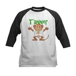 Little Monkey Tanner Kids Baseball Jersey