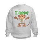 Little Monkey Tanner Kids Sweatshirt