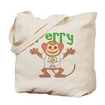 Little Monkey Terry Tote Bag