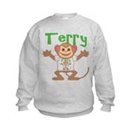Little Monkey Terry Kids Sweatshirt