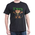 Little Monkey Terry Dark T-Shirt