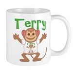 Little Monkey Terry Mug