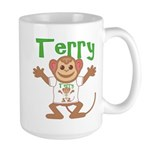 Little Monkey Terry Large Mug