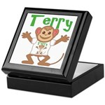 Little Monkey Terry Keepsake Box